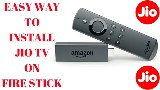 Install JioTV on Amazon Fire Stick | Easy | No App2Fire needed
