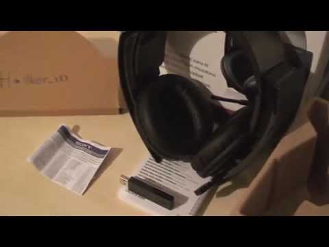 (Türkçe) Official SONY PS3 Wireless 7.1 Surround Sound Stereo Headset - Unboxing (Turkish)