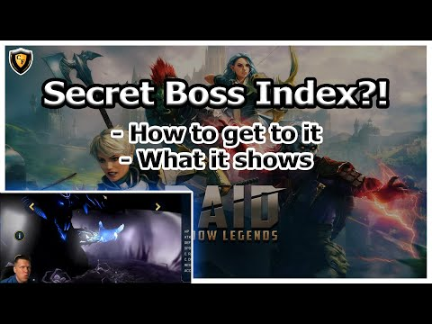 RAID Shadow Legends | Secret Boss Index?! How you can get to it