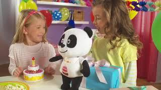 Panda Parabéns em www.autobrinca.com