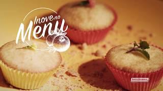 Inove no Menu: Cupcake de paçoca