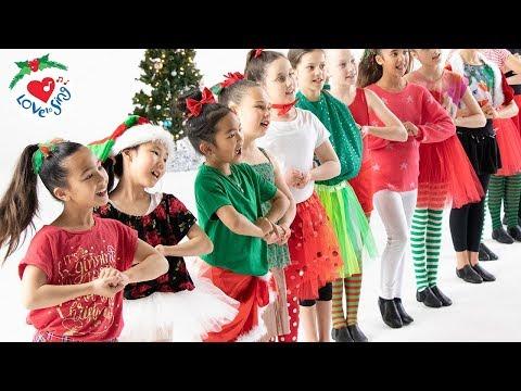 Deck the Halls Dance 2018 | Christmas Dance Song for Kids Choreography - YouTube