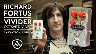 Richard Fortus about Vivider pedal | Salvation Audio