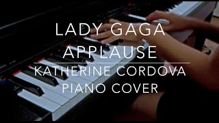 Lady Gaga - Applause (HQ piano cover)