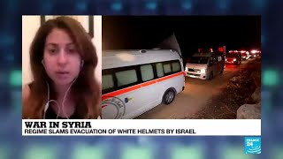 "White Helmet evacuation: ""An easy win for Western powers"""