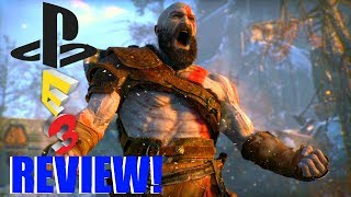E3 2017 - Sony Press Conference REVIEW!