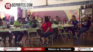 Mexico vs. Venezuela en Chitown Futbol TV