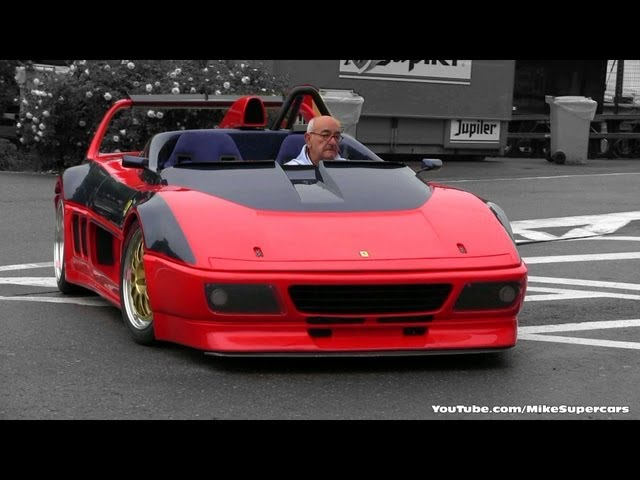 Ferrari 348 Barchetta Competizione VERY LOUD SOUND