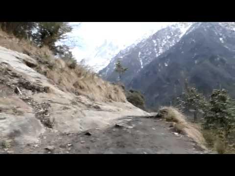 Annapurna Sanctuary: Chhomrong – Doban (22-01-2012)