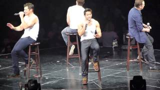 98 Degrees - I Do (Cherish You) (HD) Live on The Package Tour at the Izod Center in NJ 6/13/13