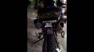 ktn 200 cc black and green colour width=