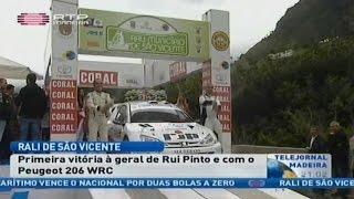 Reportagem RTP Rui Pinto o mais rápido no Rali de São Vicente