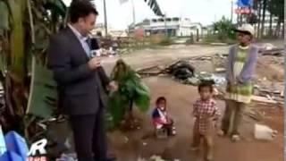 Repórter se emociona no Pinheirinho em São José dos Campos.