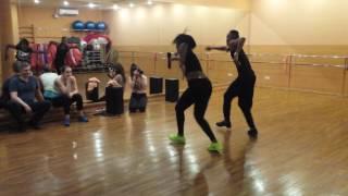 Dailyn Lazo y Dayron Jimenes - Afro cubano ( Sochi,  Russia)