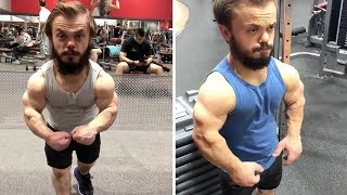 Dwarf Bodybuilder With Big Dreams Is Set For Sucess