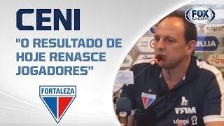 VITÓRIA DO LEÃO! Fortaleza vence o Grêmio no Brasileirão. Confira entrevista de Rogério Ceni ao vivo