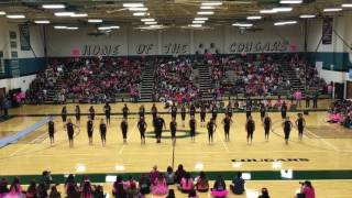 "2016 Senior/Pink Out Pep Rally - ""Fergalicious"""
