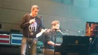 Alex Beaupain et Julien Clerc - Coule - 10 décembre 2014