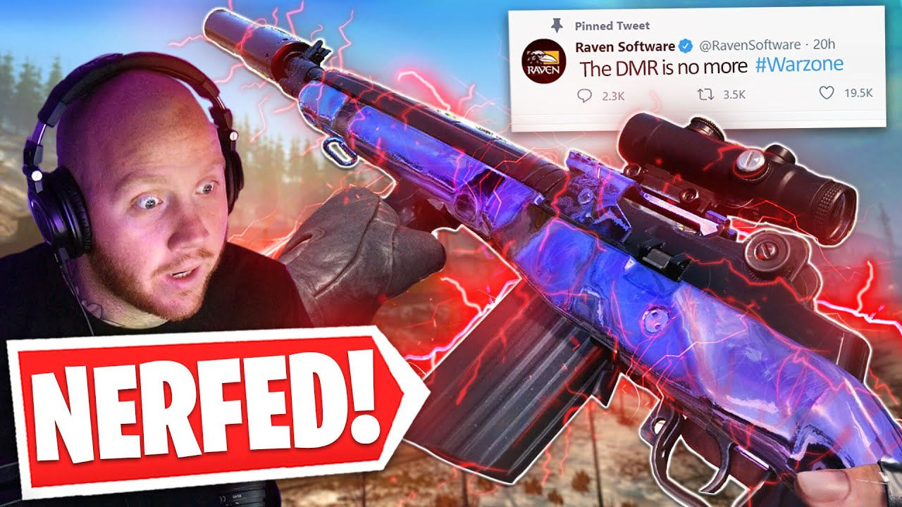 TimTheTatman - IS THE DMR FINALLY NERFED IN WARZONE?! Ft. Nickmercs, SypherPK & Swagg