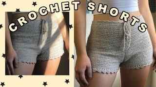 Crochet Shorts   High-Waisted Shorts   Tutorial