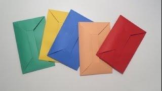 كيف تصنع ظروف جميله جدا من ورق ?