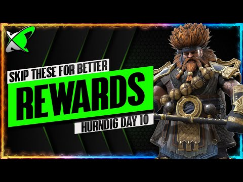 FUSE TODAY FOR BETTER REWARDS !? | Hurndig Day 10 | BGE's Guides | RAID: Shadow Legends