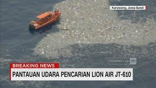Pantauan Udara Pencarian Lion Air JT-610