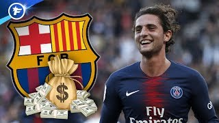 Le FC Barcelone veut gâter Adrien Rabiot | Revue de presse
