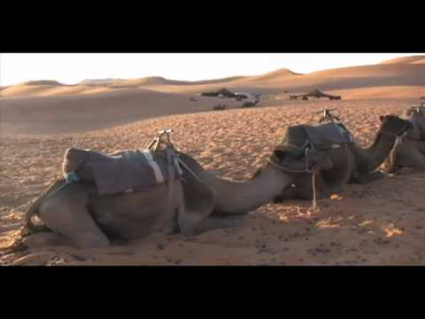 Connie and Ben Go Camel Trekking in Morocco – 2009