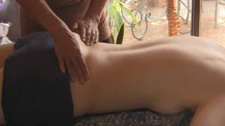 Back Massage Therapy How to: Low Back Pain Relief Treatment, Cranio-Sacral Techniques width=