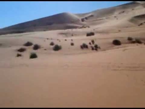 Riding camelback through the Sahara