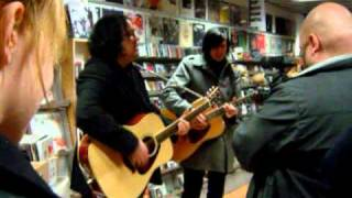 The Posies - So Caroline (live in record store)
