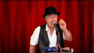 """HARMONICADAVE """"LADY LUCK"""". LIVE VOCAL AND HARMONICA LOOPING"""