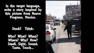Creative Culture Clips Prompt:  Nuevo Progreso, Mexico
