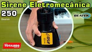 Sirene Eletromecânica 250 Beatek (Como Funciona? Características e Instalação)