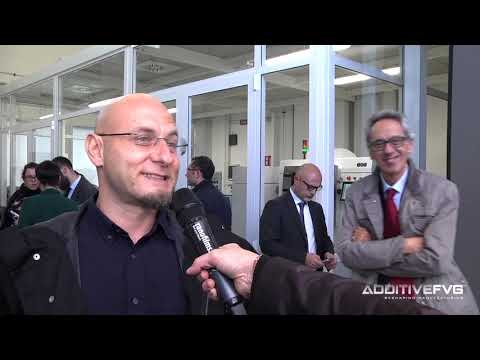 Inaugurazione Additive FVG Square - Intervista a Davide Scher
