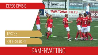 Screenshot van video Samenvatting DVS'33 - Excelsior'31