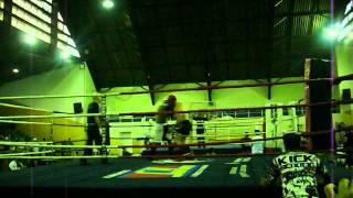 CAMPEONATO PAULISTA DE KICKBOXING-MARCIO PEREIRA-3° LUTA