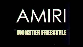 Amiri - Monster Freestyle
