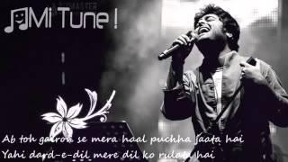 Wafa Ne Bewafai Tera Suroor   Arijit Singh Lyrical Full Video Song   T Series width=