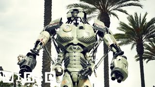 How to Build a Giant Robot Mech: Think Big (7/7) - Wired App Wired