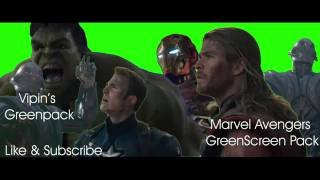 Marvel Avengers GreenScreen pack Free download From Vipin's Collection