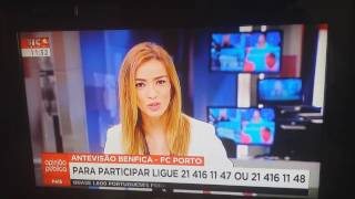 ASSISTA: Repórter da SIC Notícias convidada para jantar ao vivo!!!!