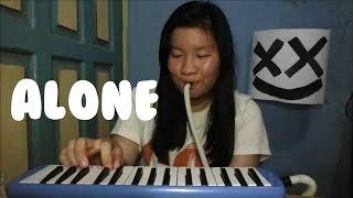Alone - Marshmello | Cindy Felicia | Melodica Cover