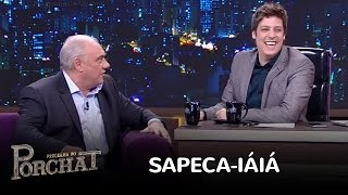 Marcelo Rezende diz que gosta do sapeca iaiá