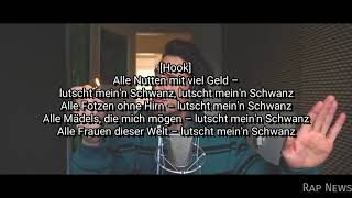 GReeeN - Lutsch mein Schwanz (OFFICIAL LYRICS VIDEO) Reagge cover