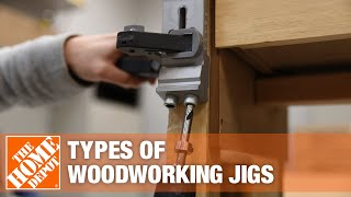 Click to see the different types of woodworking jigs.