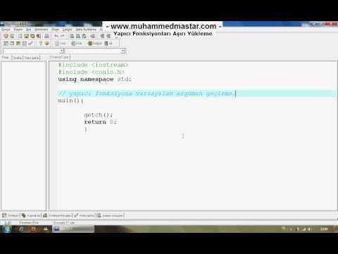 C++ Dersleri 32 - 2.Kısım otobus.org online otobüs bileti fiyatları