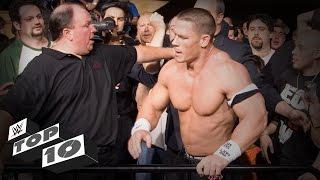 WWE Top 10 reacciones hostiles del público