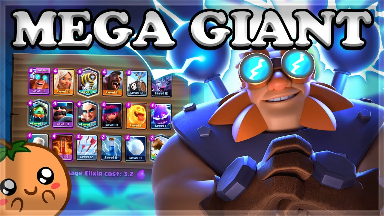 Orange Juice - Mega Deck with Mega Giant 🍊